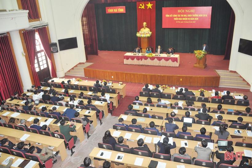 Phong trào thi đua ở Hà Tĩnh cần gắn với tái cơ cấu kinh tế, chuyển đổi mô hình tăng trưởng