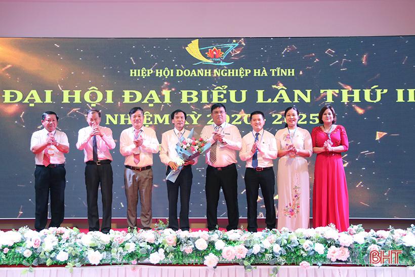 Ông Lê Đức Thắng được bầu giữ chức Chủ tịch Hiệp hội Doanh nghiệp Hà Tĩnh nhiệm kỳ 2020 - 2025