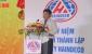 Ông Dương Tất Thắng - PCT UBND tỉnh tại Kễ KN 25 TL và đón nhận HCLĐ hạng nhì của Cty Haindeco